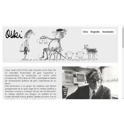 Sitio web Oski