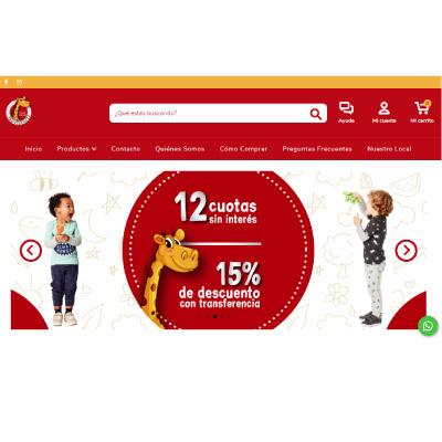 Tienda web: Providencia Baby