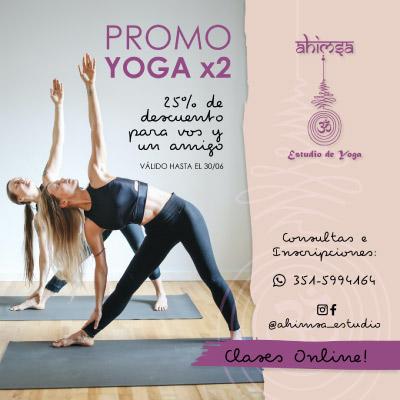 Flyer: clases de yoga
